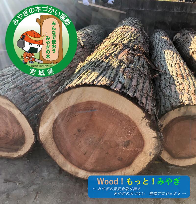 木材へのこだわり
